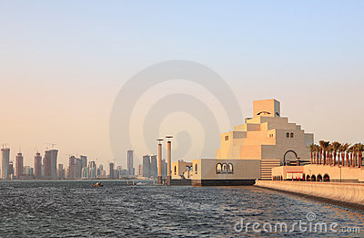 Museo e skylne di Doha
