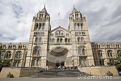 Museo Londres de la historia natural Imagen editorial