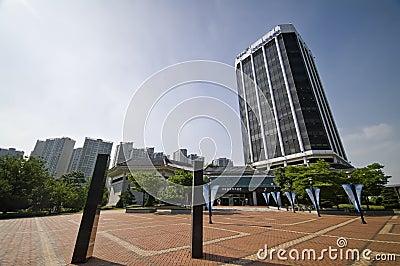 Museo olimpico, Seoul Fotografia Editoriale