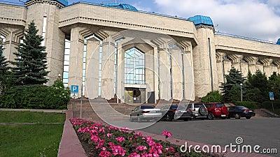 Museu Central de Almaty 166 video estoque