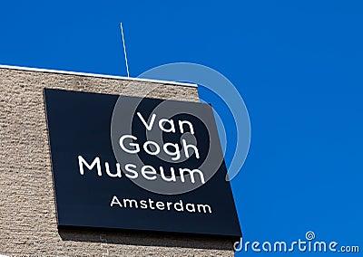 Museu de Van Gogh Foto Editorial