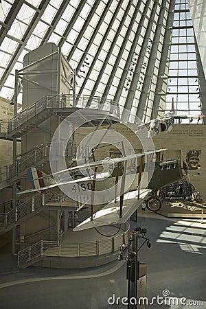 Museu Nacional do Corpo do Marines Foto Editorial