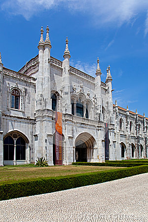 Museum of Archeology - Lisbon Editorial Stock Image