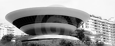 Museum of Art in Niteroi city