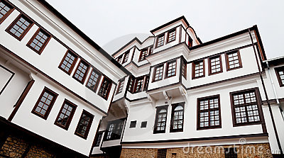 Museum building in ohrid