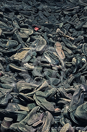 Museum of concentration camp Auschwitz,Poland Editorial Photo