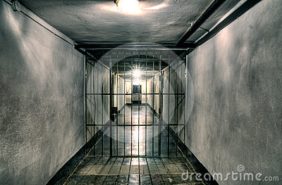 Museum  of concentration camp Auschwitz,Pqqqoland Editorial Stock Image