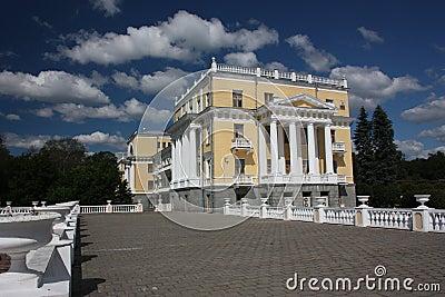 Museum-estate Arkhangelskoe. The sanatorium.