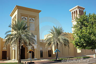 Museum of falconry in the UAE Editorial Stock Photo