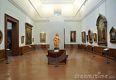 Museum of Fine Arts in Budapest Budapest Editorial Photography