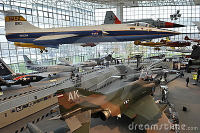 The Museum of Flight, Seattle Editorial Photo
