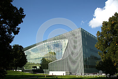 Museum of the History of Polish Jews in Warsaw (Po Editorial Stock Image
