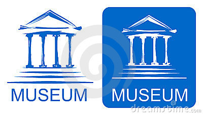 Museum Sign Stock Illustrations – 1,997 Museum Sign Stock ...