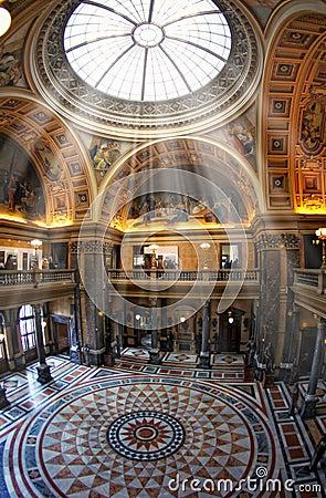 Museum interior Editorial Photo