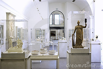 Museum interior Editorial Photo