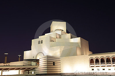 Museum of Islamic Art in Doha Editorial Stock Image