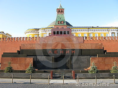 Museum of Lenin on red square
