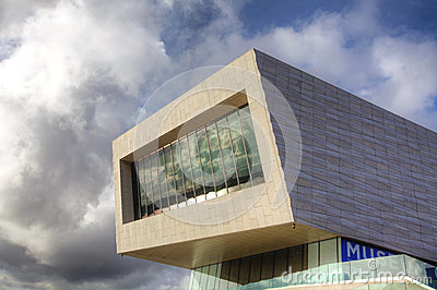 Museum of Liverpool Editorial Stock Image