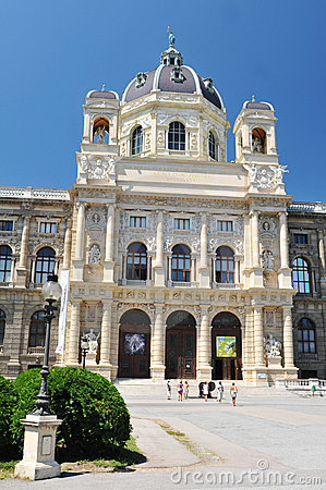 Museum of Natural History, Vienna Editorial Stock Image