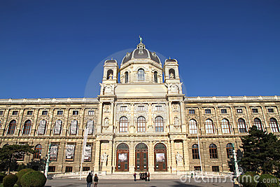 The Museum of Natural History in Vienna
