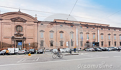 Museum Palace  in Modena, Italy Editorial Stock Image