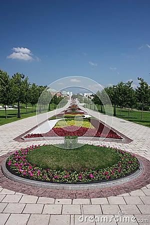 """Museum - reserve """"Tsaritsyno"""". Flower Alley."""