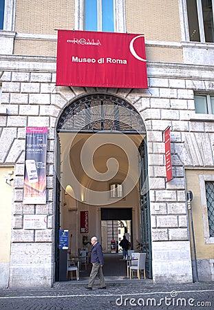 Museum of Rome Editorial Photo