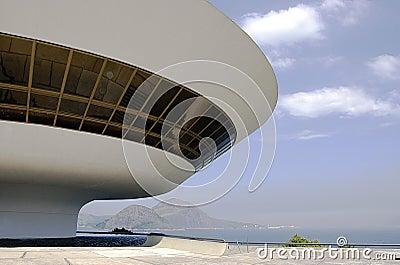 Museum van de Kunst van Niterói het Eigentijdse (MAC)