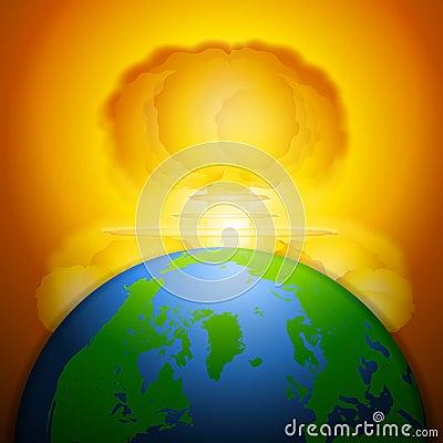 Free Mushroom Cloud Nuclear War Royalty Free Stock Photo - 4433595