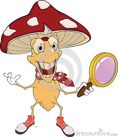 Mushroom the detective