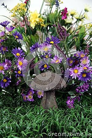 Mushroom Fantasy Background