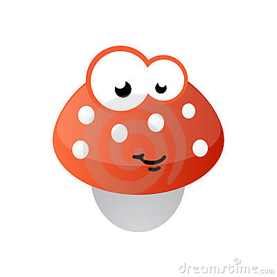 Mushroom mascot comic