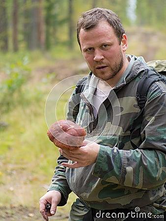 The mushroom picker