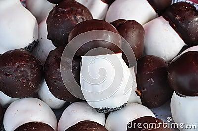 Mushroom shaped pastry