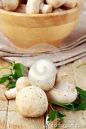 Mushrooms  champignon