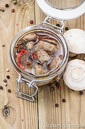 Mushrooms (grilled Antipasti)