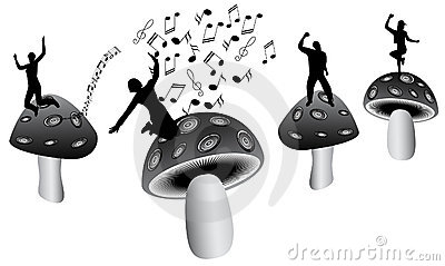Mushrooms and music