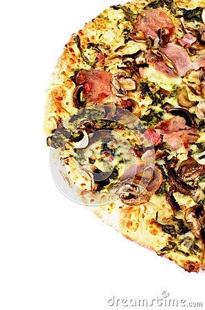 Mushrooms Pizza