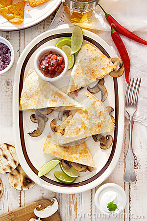 Quesadilla, Mexican Food Stock Photography - Image: 19757982