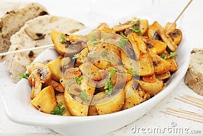Mushrooms Tapas