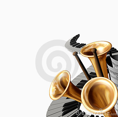 Free Music Royalty Free Stock Photo - 4265965