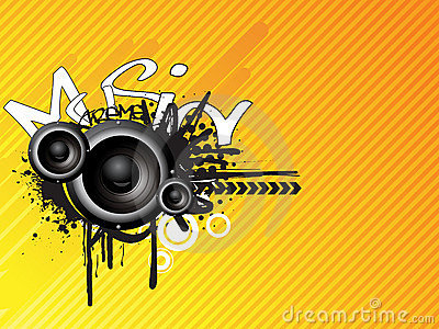 Music absrtact design