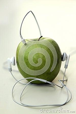 Free Music Apple Royalty Free Stock Photos - 2263338
