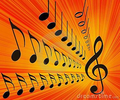 Music Background Stock Photo - Image: 2043280