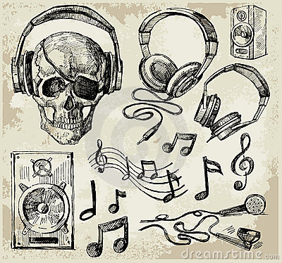 Free Music Background Stock Photography - 21684592
