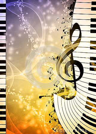Free Music Background Stock Photo - 41549960