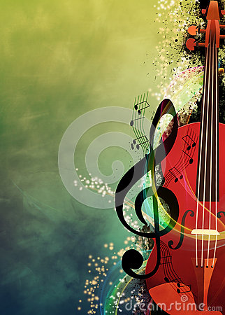 Free Music Background Royalty Free Stock Photography - 41550067