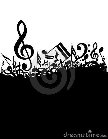 Free Music Background Stock Photography - 7313352