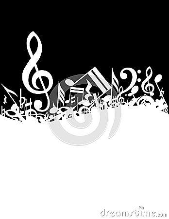 Free Music Background Stock Image - 7313471