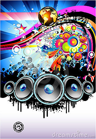 Free Music Background Stock Images - 9603224